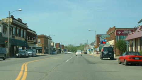View of Downtown Crosby Minnesota, 2007