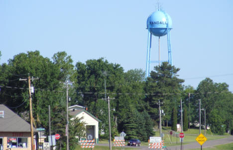 Randall Minnesota city water tower, 2007