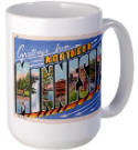 Greetings from Northern Minnesota Large Mug