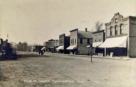 Main Street South, Annandale Minnesota, 1910's?