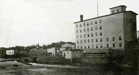 Lincoln Mill on the Rum River, Anoka Minnesota, 1907