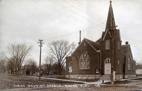 First Baptist Church, Anoka Minnesota, 1900's?