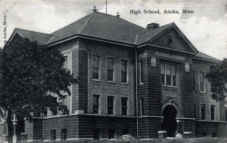High School, Anoka Minnesota, 1910's