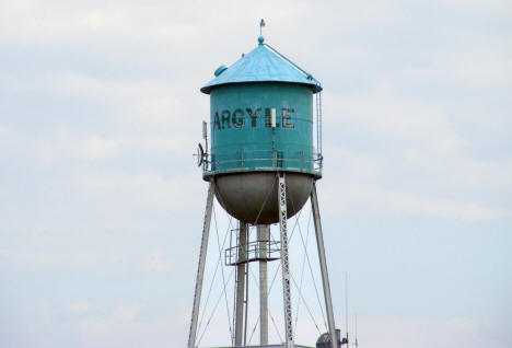 Argyle Minnesota Water Tower, 2008