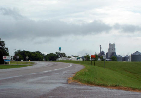 Entering Argyle Minnesota, 2006