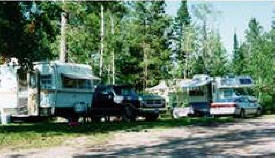 Long Lake Park & Campground, Bagley Minnesota