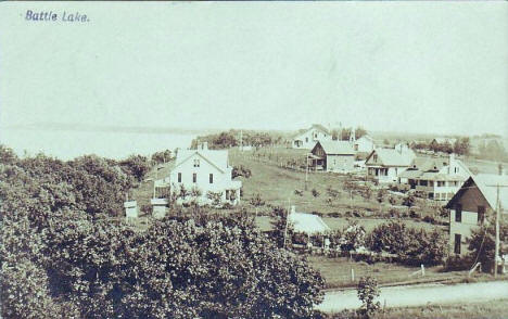 General view, Battle Lake Minnesota, 1910
