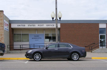 US Post Office, Canby Minnesota