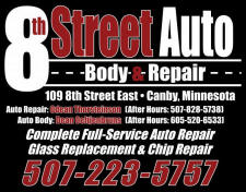 8th Street Auto Body & Repair, Canby mINNESOTA