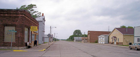 Broadway Street in Climax Minnesota, 2007