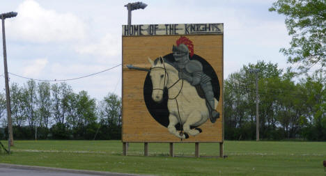 Climax Knights Sign, Climax Minnesota, 2008