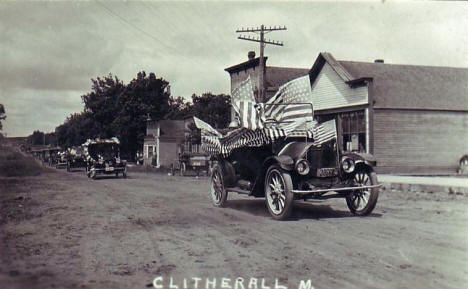 Parade, Clitherall Minnesota, 1910's?