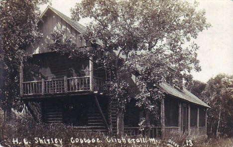 HL Shirley Cottage, Clitherall Minnesota, 1920's?