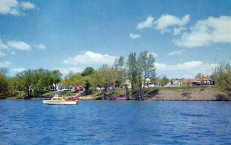 Old Town Camp on Clitherall Lake, Clitherall Minnesota, 1961
