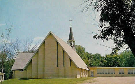 Zion Lutheran Church, Cologne Minnesota, 1960's
