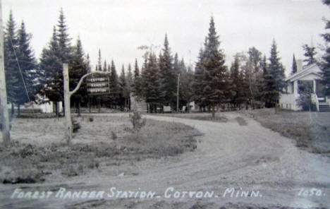 Forest Ranger Station, Cotton Minnesota, 1940's
