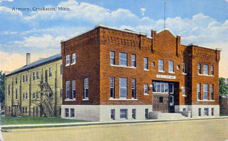 Armory, Crookston Minnesota, 1910