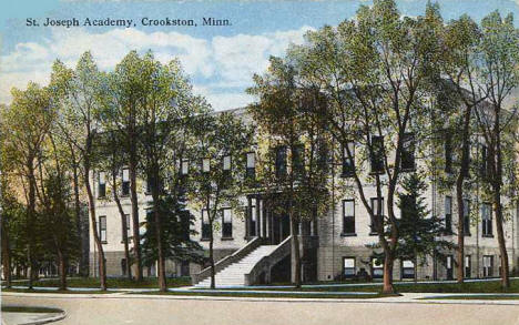 St. Joseph Academy, Crookston Minnesota, 1918