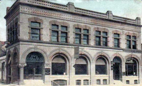 Bank of Crookston, Crookston Minnesota, 1909