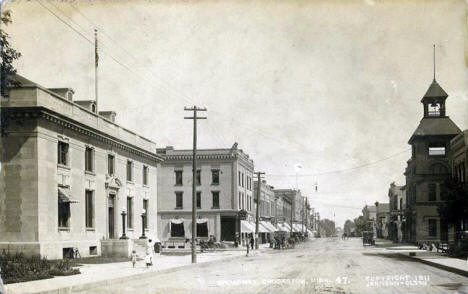 Broadway, Crookston Minnesota, 1911