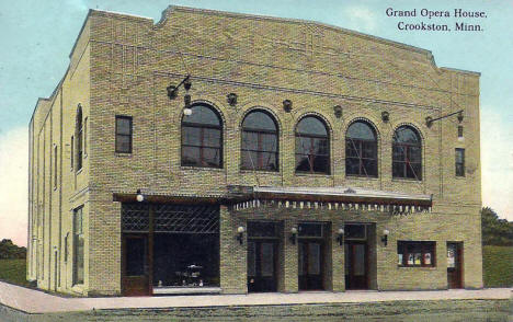 Grand Opera House, Crookston Minnesota, 1914