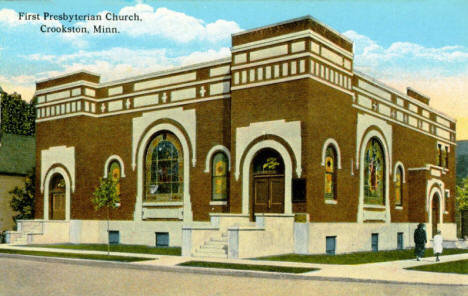 First Presbyterian Church, Crookston Minnesota, 1910's