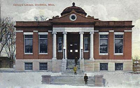 Carnegie Library, Crookston Minnesota, 1909