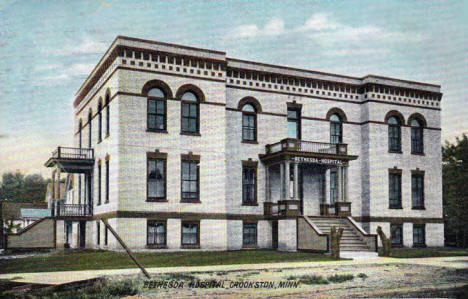 Bethesda Hospital, Crookston Minnesota, 1914