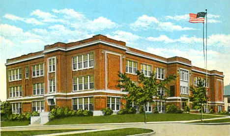 High School, Crookston Minnesota, 1935