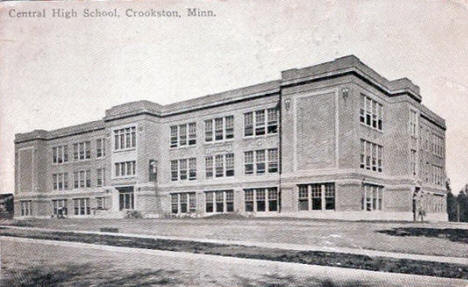 Central School, Crookston Minnesota, 1916
