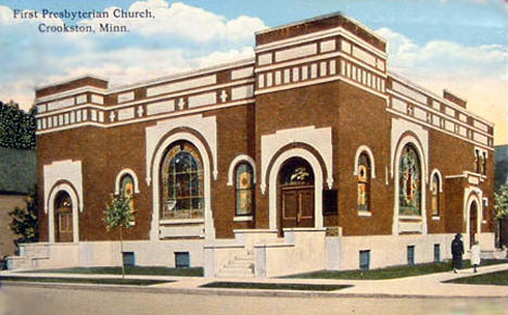 First Presbyterian Church, Crookston Minnesota, 1933