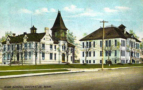 High School, Crookston Crookston Minnesota, 1908