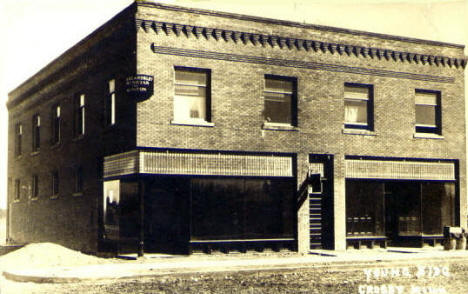 Young Building, Crosby Minnesota, 1914