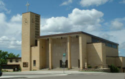 St. Anthony's Catholic Church in Ely Minnesota