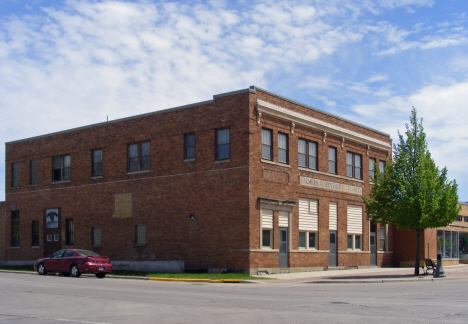 Former Farmers Cooperative Creamery, Fairmont Minnesota, 2014