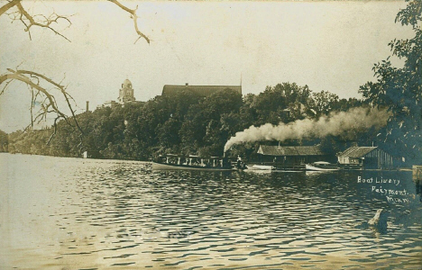 Boat livery, Fairmont Minnesota, 1910's