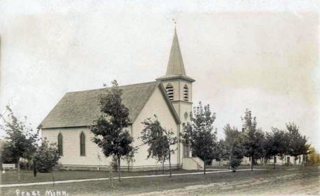 Church, Frost Minnesota, 1915
