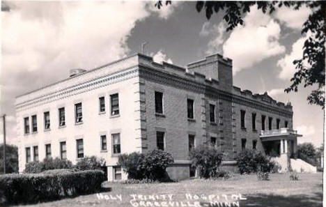 Holy Trinity Hospital, Graceville Minnesota, 1940's