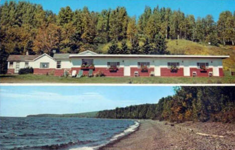Breakers Motel and Cottages, Grand Marais Minnesota, 1960's