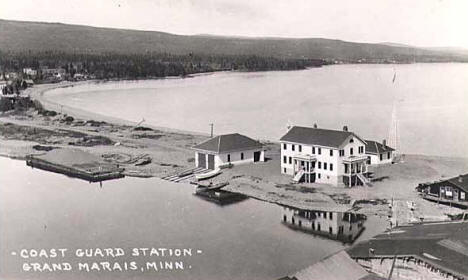 Coast Guard Station, Grand Marais Minnesota, 1948