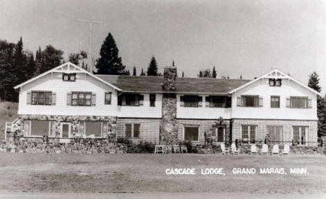 Cascade Lodge, Grand Marais Minnesota, 1950's
