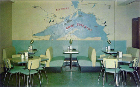 El Ray Cafe, Grand Marais Minnesota, 1950's