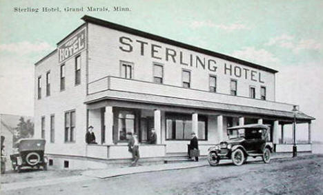 Sterling Hotel, Grand Marais Minnesota, 1930