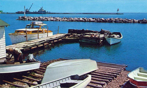 Harbor View, Grand Marais Minnesota, 1961