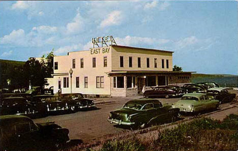 Hotel East Bay, Grand Marais Minnesota, 1954