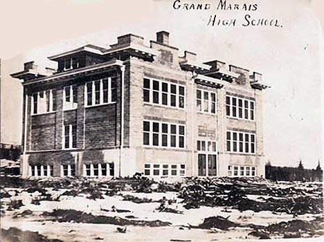 Grand Marais High School, Grand Marais Minnesota