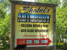 Shabel's Auto Body, Grey Eagle Minnesota