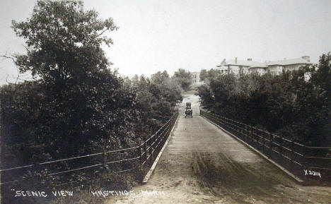 Bridge, Hastings Minnesota, 1915