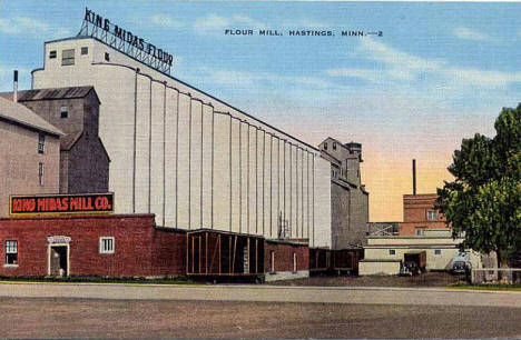 King Midas Flour Mill, Hastings Minnesota, 1940's