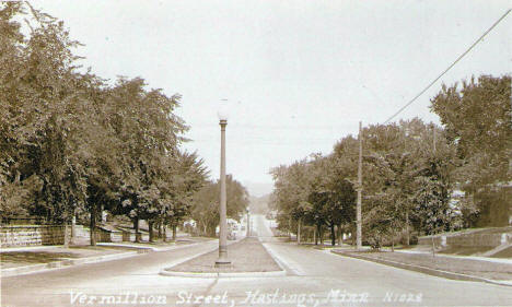 Vermillion Street, Hastings Minnesota, 1920